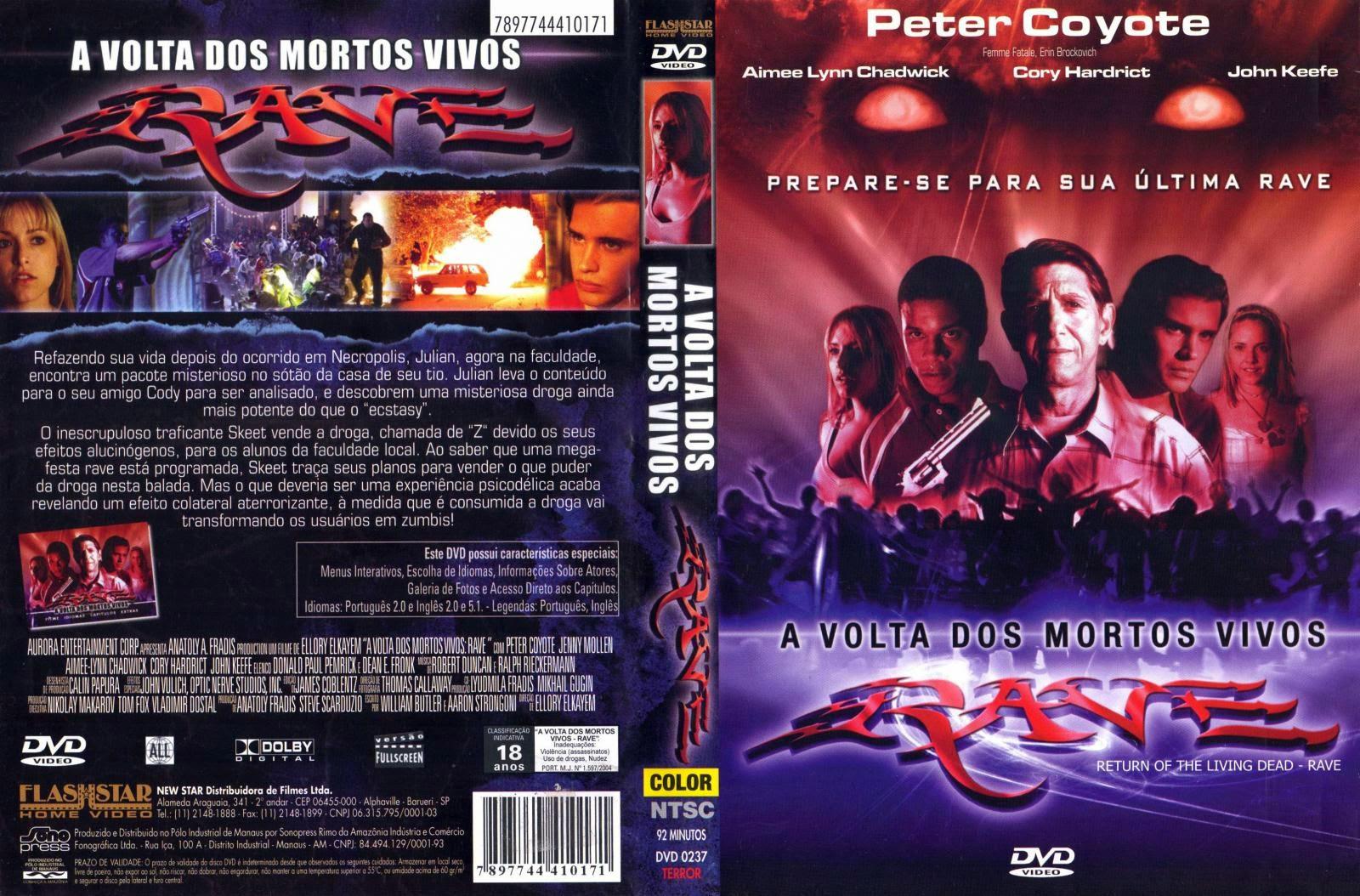 A Volta Dos Mortos Vivos 5 DVD Capa