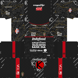 Bali United 2020 Kit - Dream League Soccer Kits