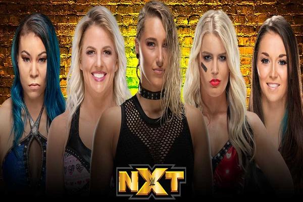 ريا ريبلي تقود فريق سيدات NXT في سيرفايفر سيريز