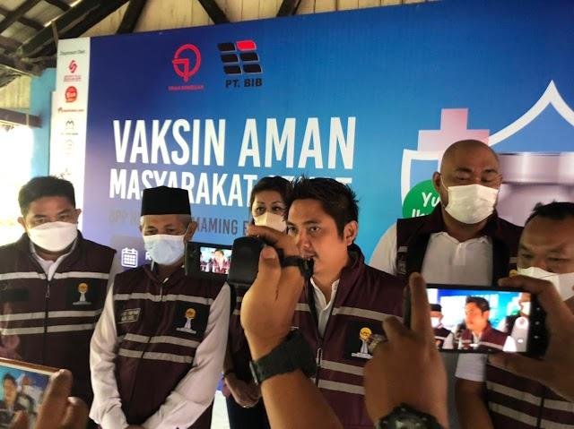 Ikuti Instruksi Jokowi, BPP HIPMI Gelar Vaksinasi di Kotabaru