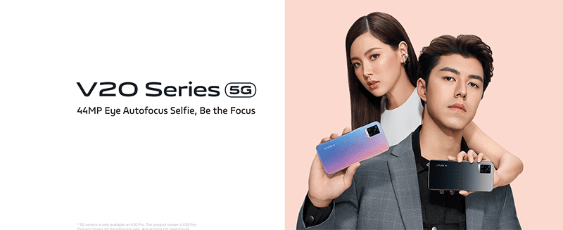 vivo V20 and V20 Pro 5G now official with 44MP Eye Autofocus Selfie