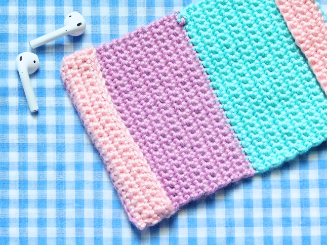 ColorBlock Passport Cover Crochet Pattern