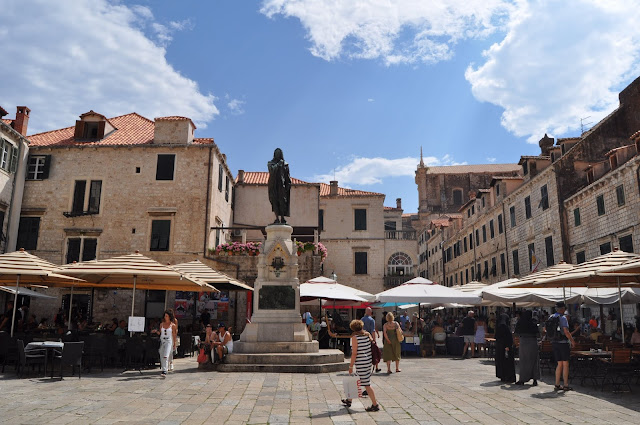 foto de Plaza Gundulic, que ver en Dubrovnik