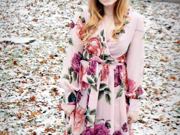 Rock a Winter Floral Look with PinkBlush!