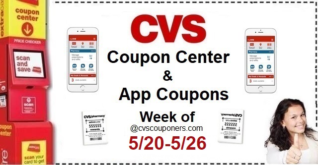 http://www.cvscouponers.com/2018/05/cvs-coupon-center-app-coupons-week-of_21.html