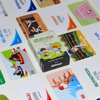 Flash Card Olah Raga