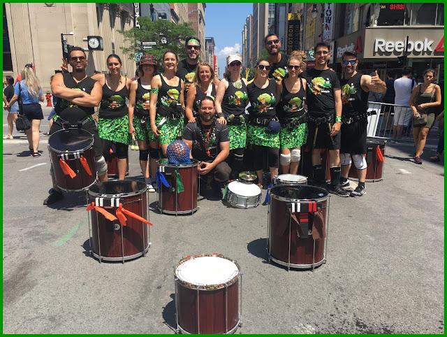 Terrato musique samba reggae brésil