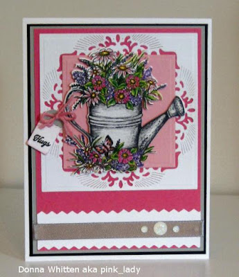 ODBD Happy Birthday, Card Designer Donna Whitten aka pink_lady