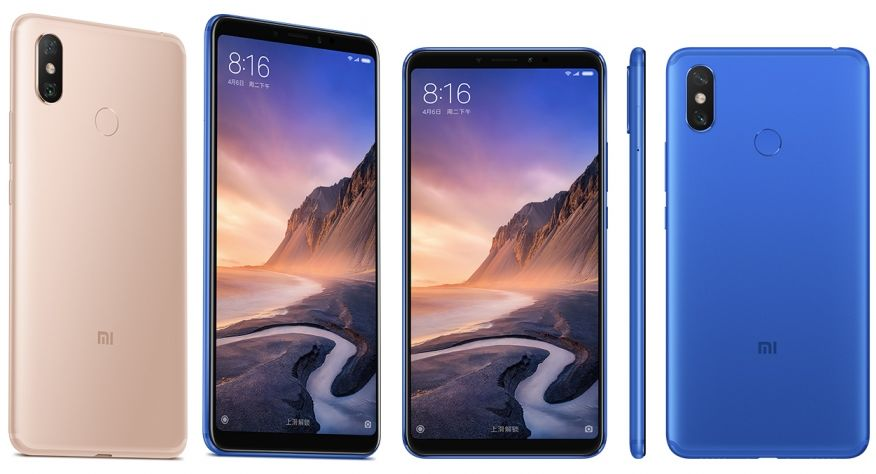 Xiaomi Mi Max 3 (2018) with Specifications and Prices