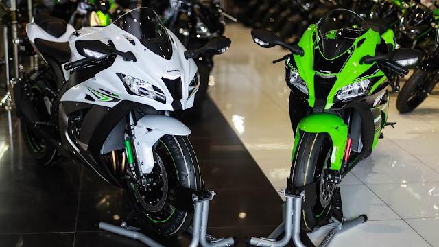 Bảng giá xe môtô tháng 6/2017 của BMW, Kawasaki, Yamaha, Ducati