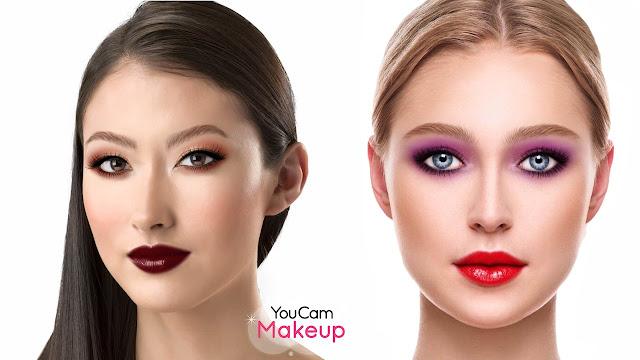 حصريا أفضل تطبيق لعمل مكياج وتزيين الصور وتعديلها مجانا للأندرويد YouCam Makeup