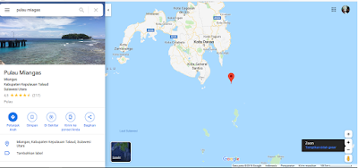 letak pulau miangas