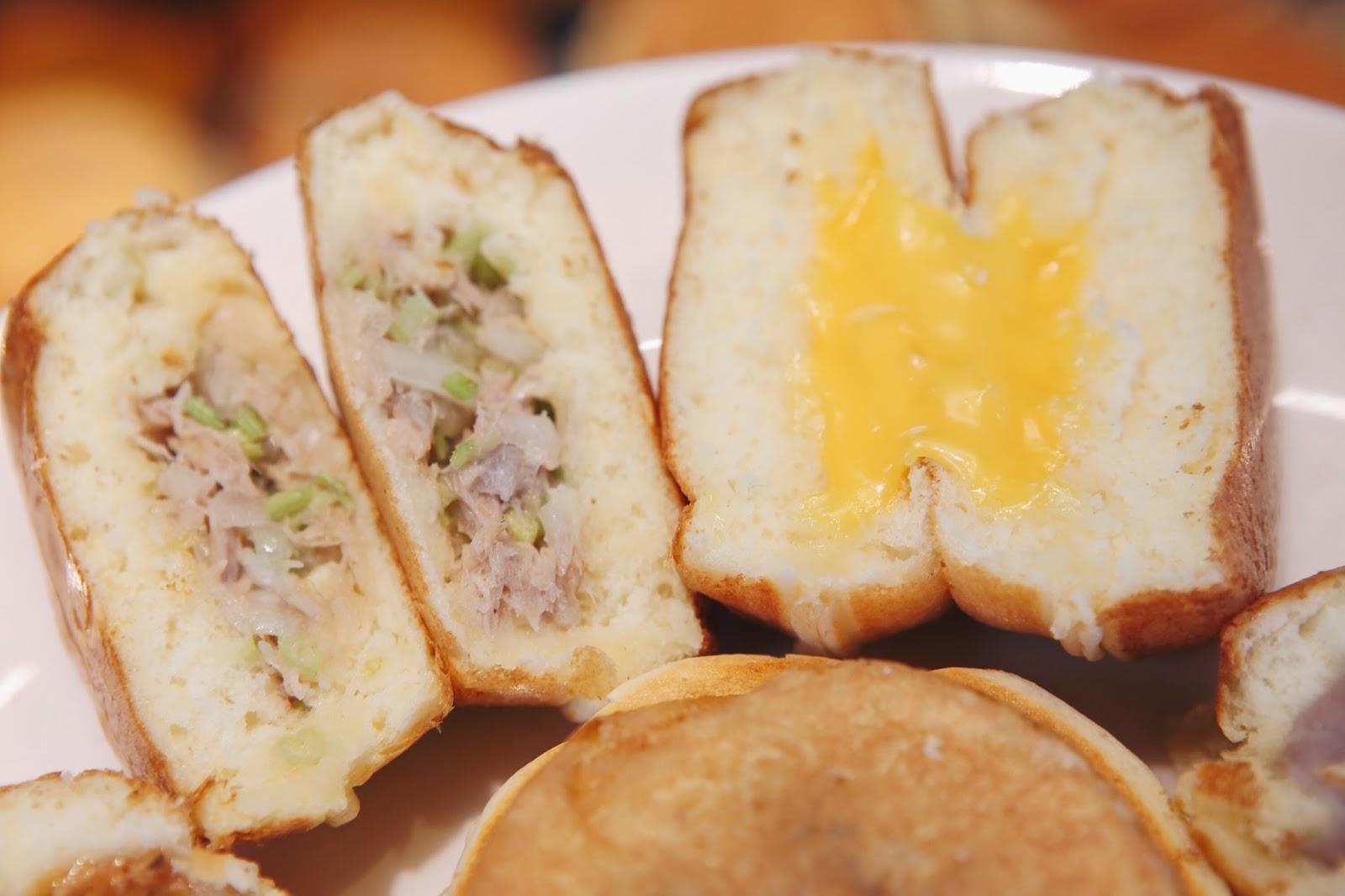 花輪東京今川燒|不只是紅豆餅|如蛋糕般鬆厚的柔軟餅皮包著自製餡料 - 小食日記