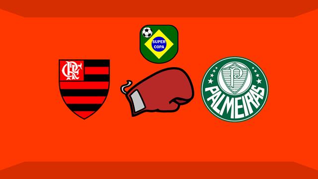 """Confusão no fim de Flamengo x Palmeiras envolveu """"vias de fato"""" segundo TV"""