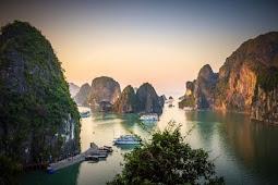 Destinasi Luar Biasa Di Teluk Ha Long, Vietnam