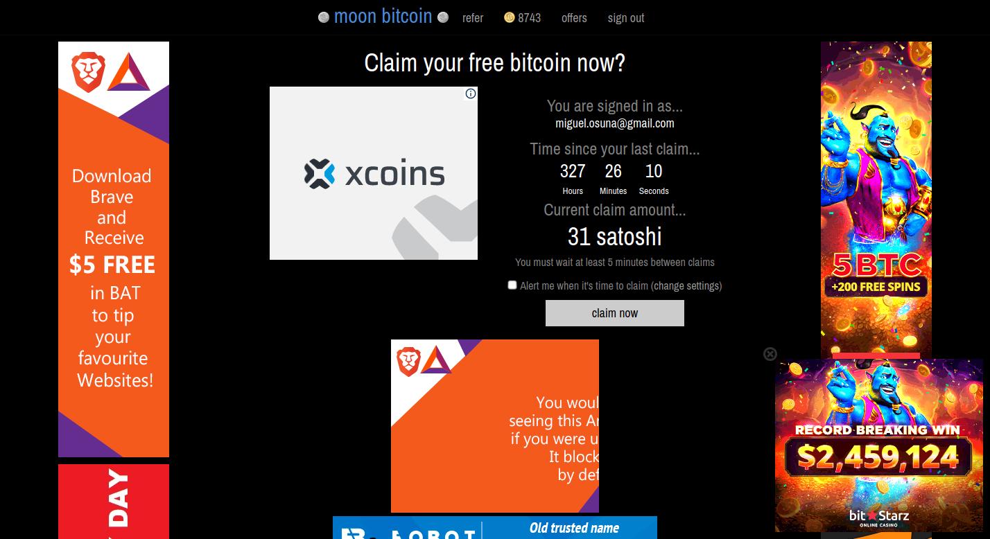 moonbitcoin, bitcoin, faucet, cripto