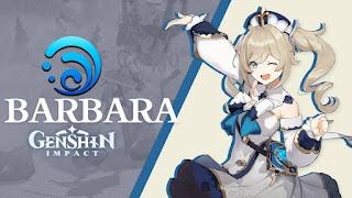 Barbara genshin impact mihoyo