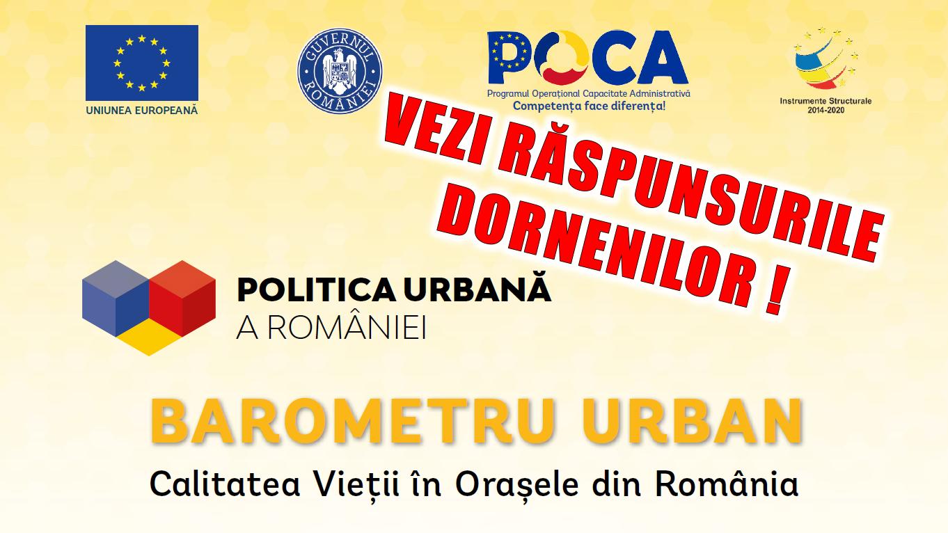 Politica urbană a României - Vatra Dornei