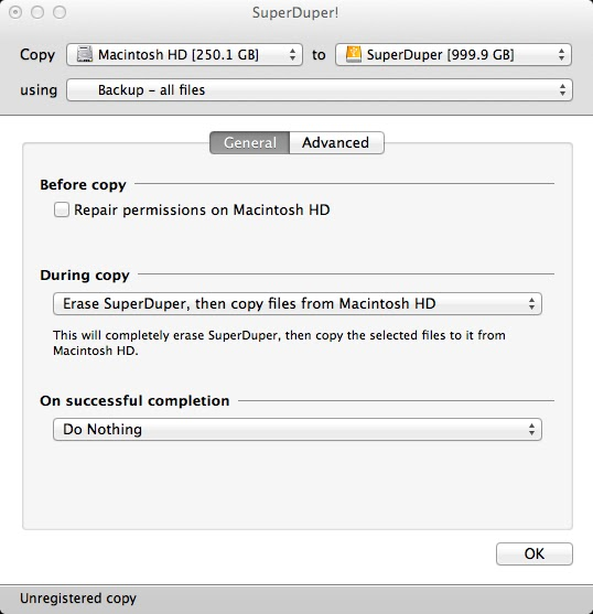 Cloning my MacBook Air - SuperDuper! | Notes & Such