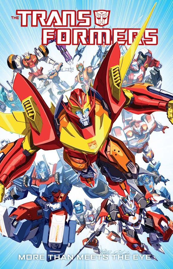 transformers rodimus prime idw