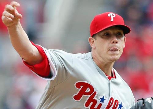 Philadelphia starter Jeremy Hellickson