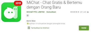 Apa itu aplikasi Michat