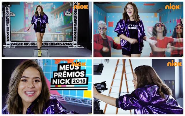 Nickelodeon libera primeiro vídeo de Maisa Silva como apresentadora de 'Meus Prêmios Nick' 2018
