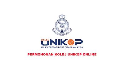 Permohonan Kolej UNIKOP 2020 Online (Borang)