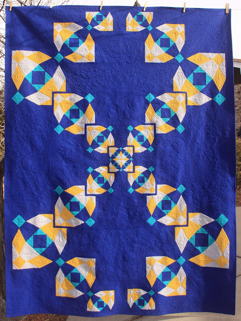 Quilting Mod Four Is Greater Than One A Blue Moon Quilt