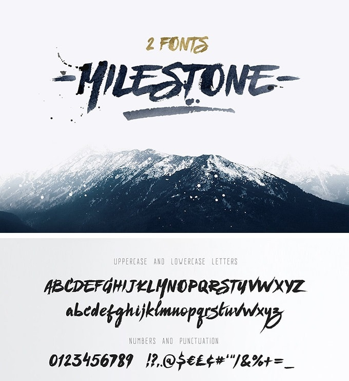 Font Edisi April 2017 - Milestone Fonts