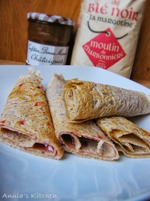 Galette Bretonne Crepes De Sarrasin Breton Buckwheat Pancakes