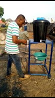 A Nigerian invented a hand washing machine  to curb the spread of covid-19