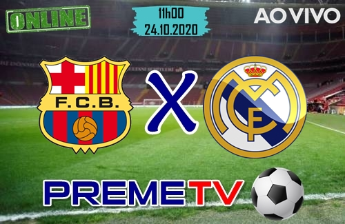 Barcelona x Real Madrid Ao Vivo