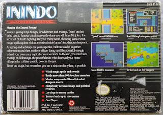 Inindo - Way of the Ninja - Caja detrás