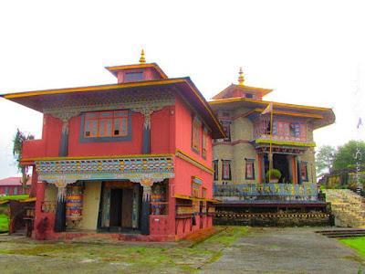 rabong monastery sikkim gompa doibedouin