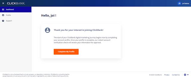 Clickbank Affiliate Marketing