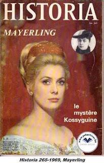Revue Historia, 265 1968, mayerling