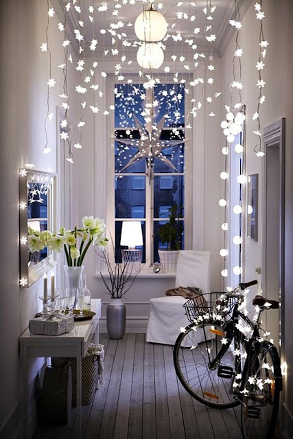 image result for Paris Christmas romantic decorated interior