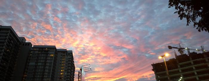 Cirrocumulus Altocumulus cloud