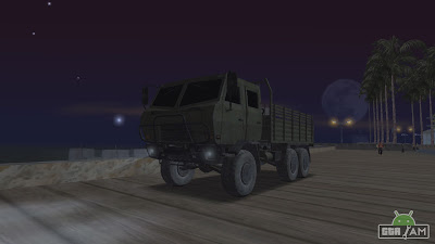 DongFeng SX Military truck android download from gtaam.net