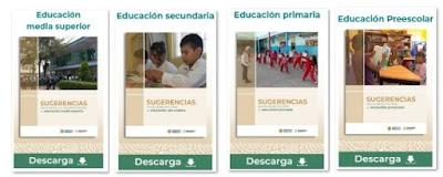 Sugerencias para el regreso a las escuelas en educación básica y media superior