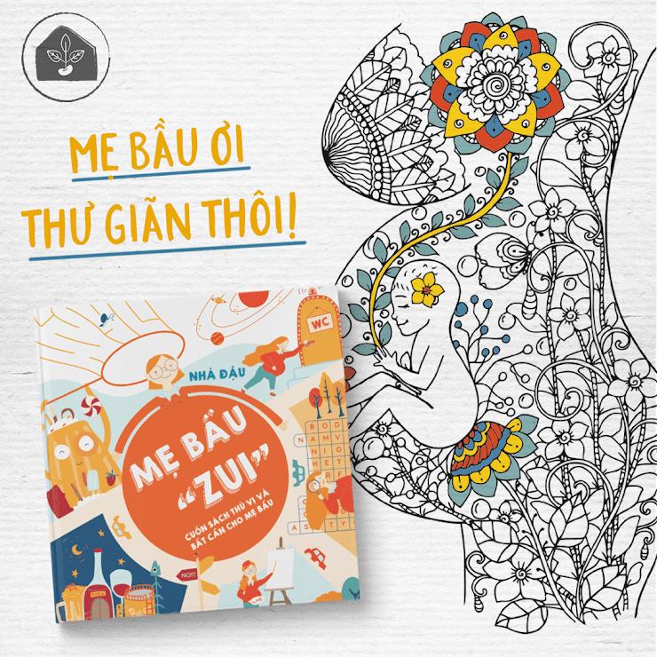 """[A116] Mua ngay """"Mẹ Bầu Zui"""" - Sách thai giáo số 1 cho Mẹ Bầu Việt Nam"""
