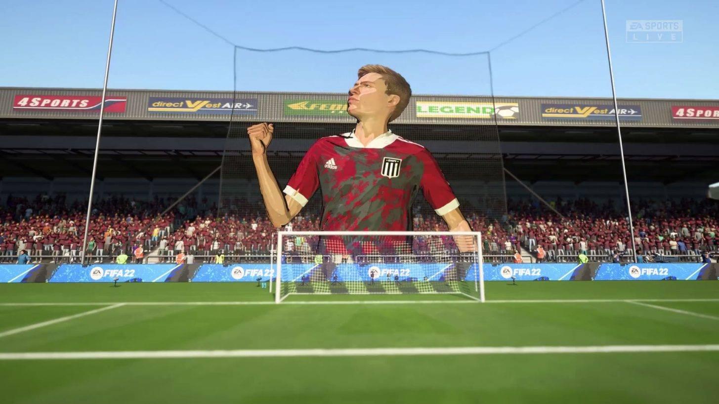 Tifo w trybie kariery FIFA 22