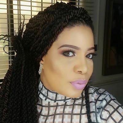 Monalisa Chinda shared a beautiful make up photo today.