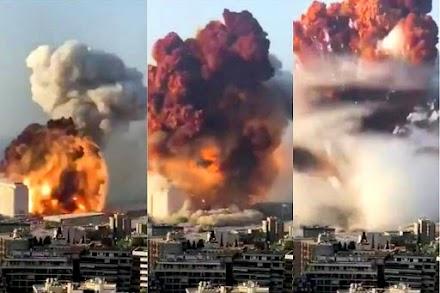 Νέα έρευνα : Η έκρηξη στο λιμάνι της Βηρυτού συγκλόνισε την ατμόσφαιρα