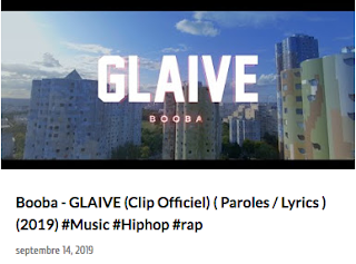 Booba - Glaive Clip Officiel Paroles Lyrics