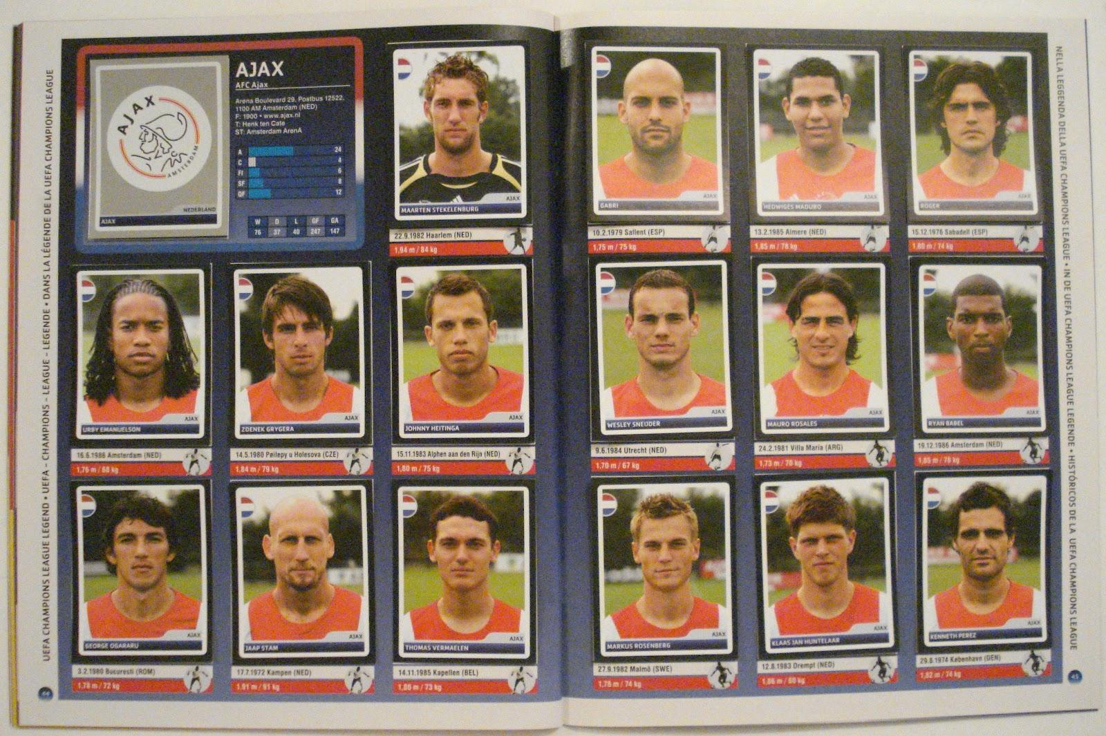 Paninista: UEFA Champions League 2006-07