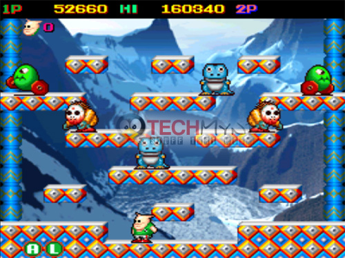 snow bros psp iso free download
