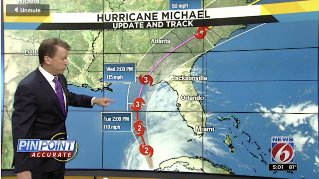 Hurricane Michael Misses Disney World