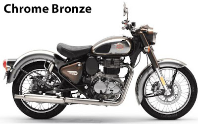 Royal Enfield Classic 350 Chrome Bonze.